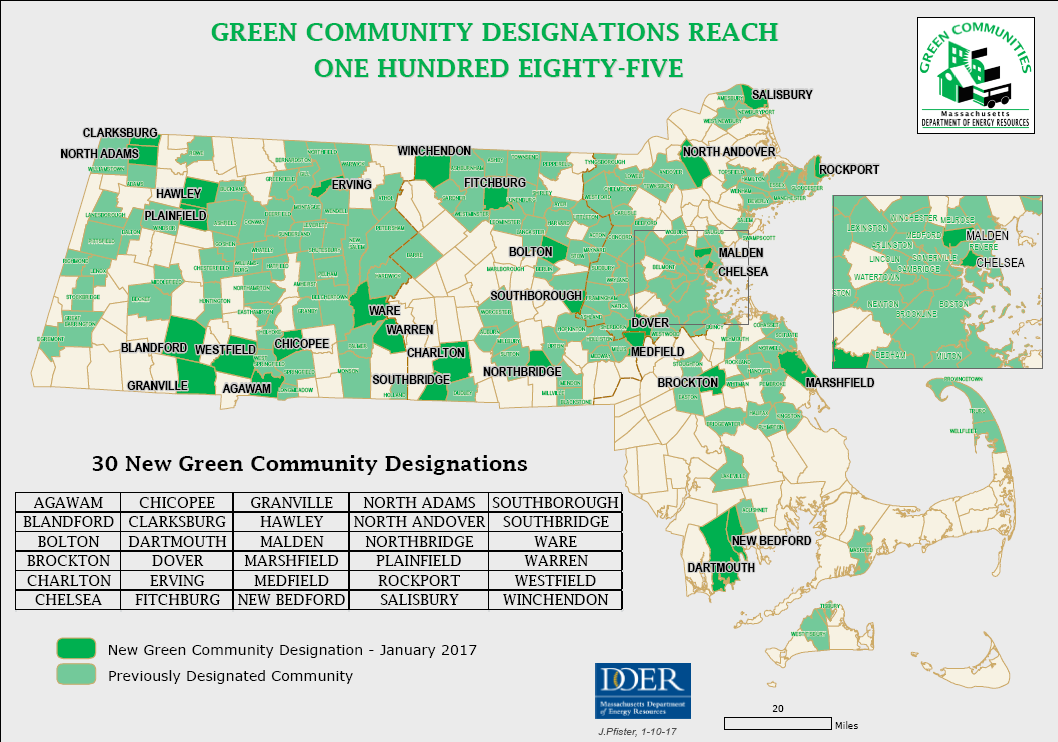 state map of Green Communities