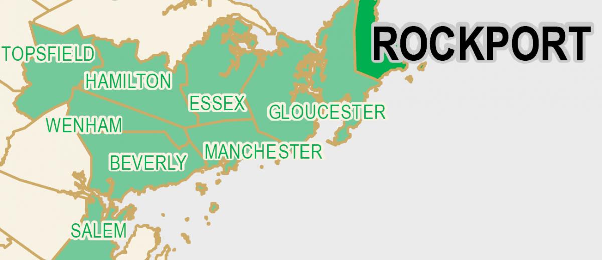 area map of Green Communities