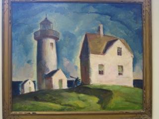 """""""Straitsmouth Light"""" by Sam Hershey"""