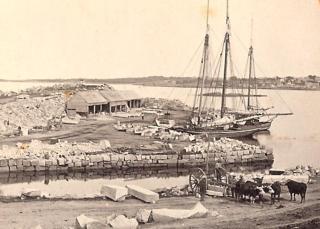 Historic Granite Pier
